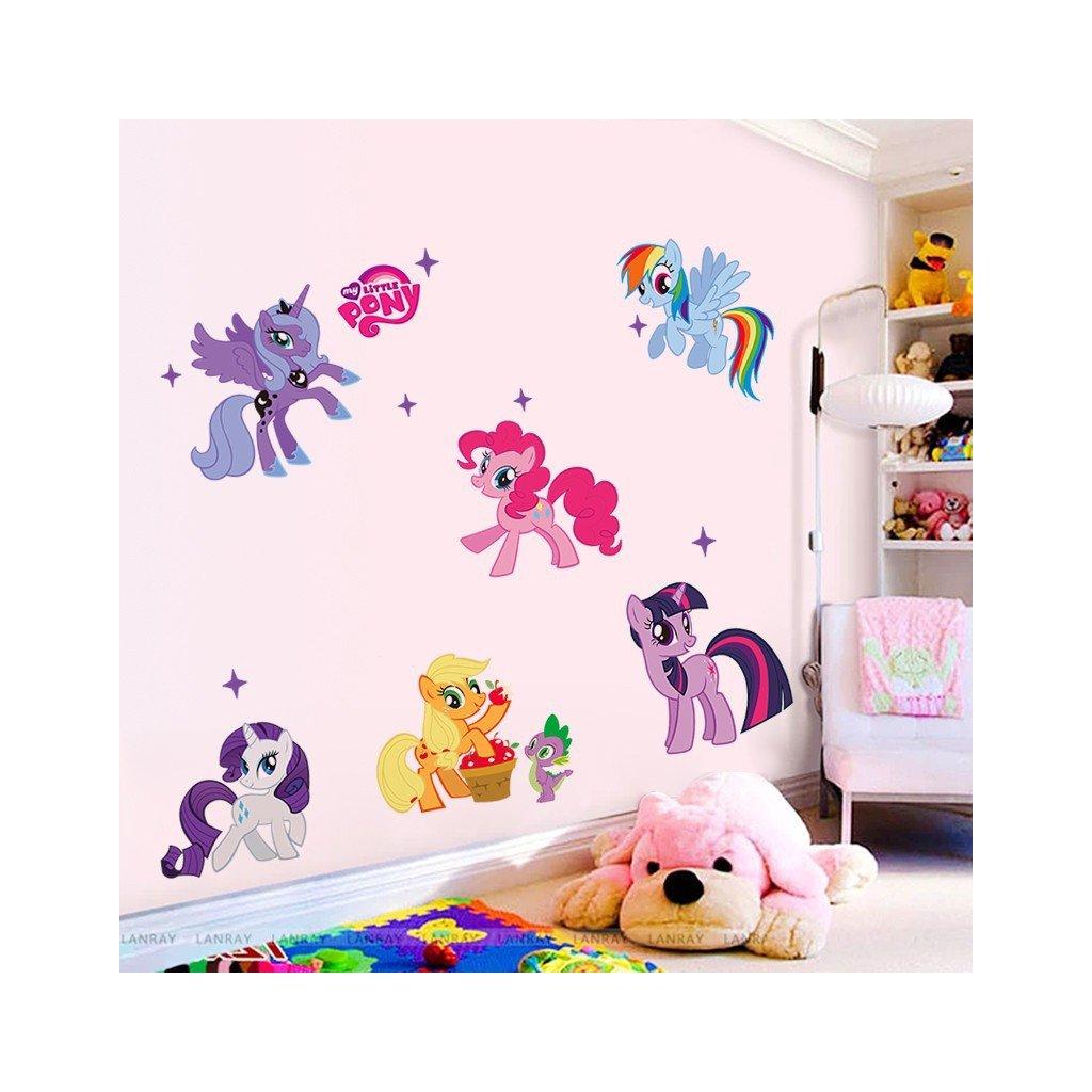"Samolepka na stenu ""My Little Pony"" 104x59 cm"