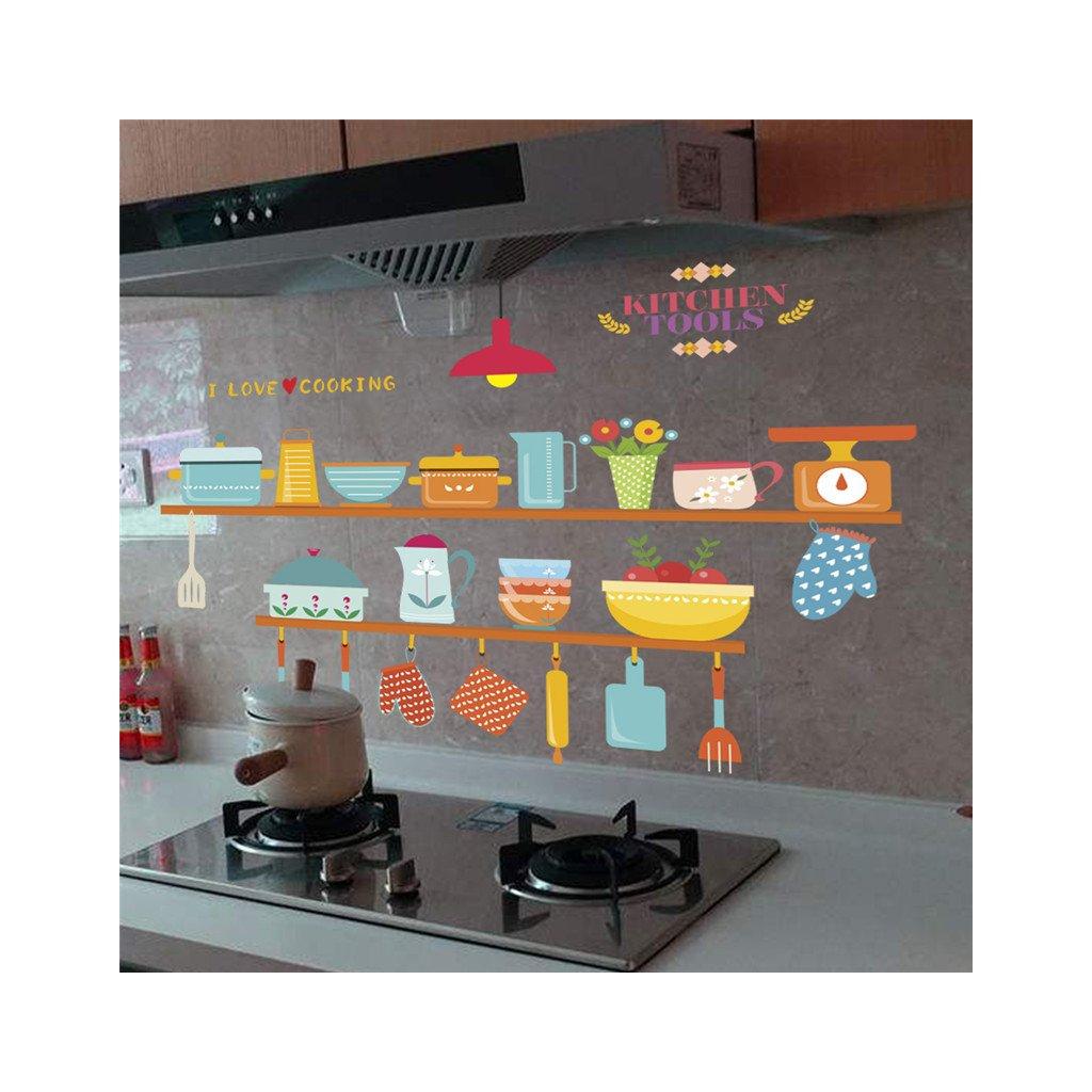 samolepiaca tapeta dekoracna samolepka na stenu nalepka farebna kuchyna styl interierovy dizajn dekoracia nahlad stylovydomov