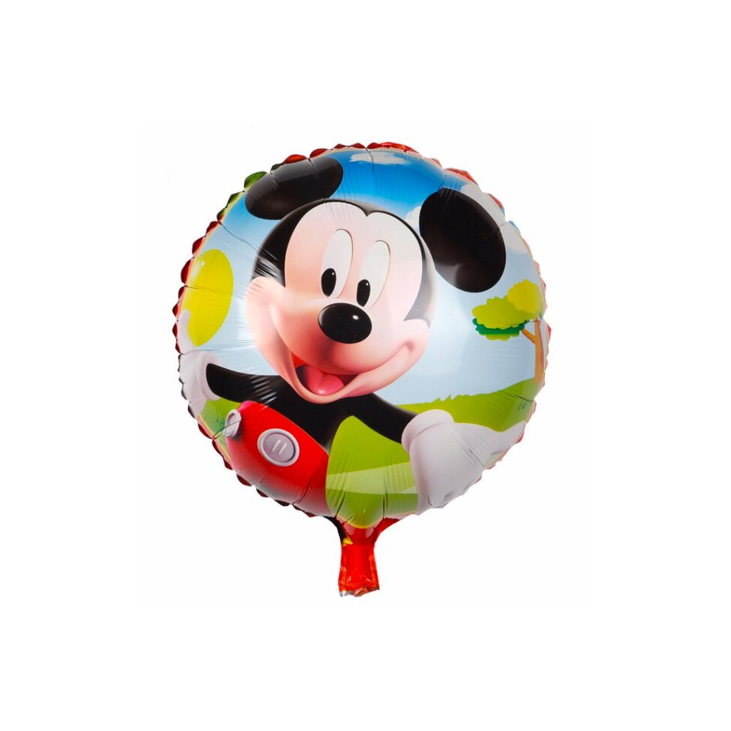 "Guľatý balón ""Mickey Mouse"" 44cm"