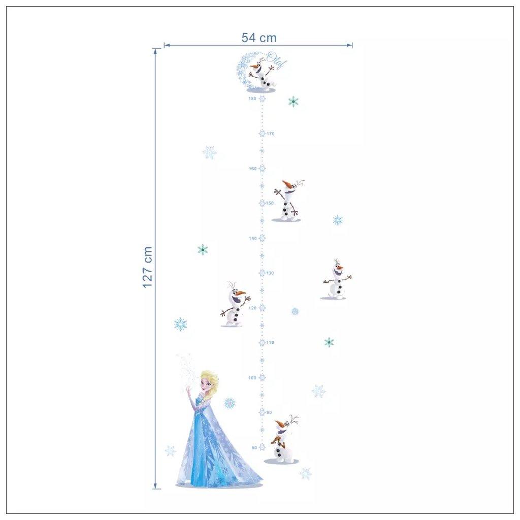 Elsa a Olaf rozmer