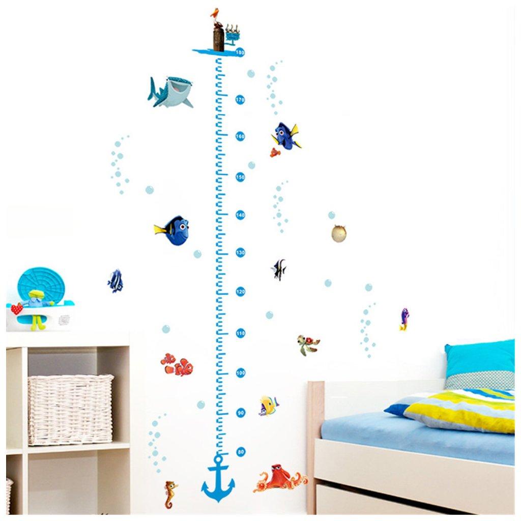 samolepka na stenu samolepiaca tapeta dekoracna nalepka pre deti detska hlada sa nemo detsky meter nahlad stylovydomov