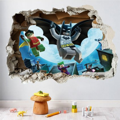 detska samolepka na stenu samolepiaca tapeta dekoracna nalepka lego batman nahlad stylovydomov