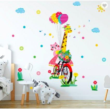 Žirafa na bicykli úvod 2
