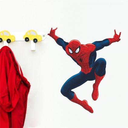 "Samolepka na stenu ""Spider-man"" 40x47 cm"