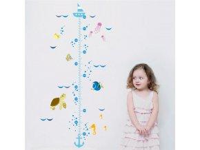 detska samolepka na stenu samolepiaca tapeta dekoracna nalepka pre deti detsky meter hlada sa dory nahlad stylovydomov