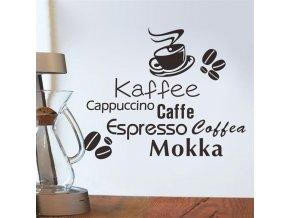 samolepiaca tapeta dekoracna samolepka na stenu vinylova nalepka kava dizajn dekoracia nahlad stylovydomov
