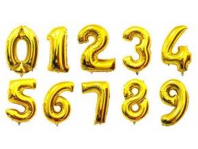 balon cislo jeden narodeniny oslava party dekoracia na oslavy zlate balony nahlad stylovydomov