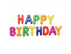 balony na oslavu happy birthday narodeniny