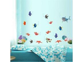 """Samolepka na stenu """"Hľadá sa Nemo"""" 60x45 cm"""