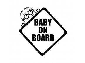 samolepka na auto detska samolepiaca tapeta nalepka pre deti mimoni dieta v aute nahlad stylovydomov